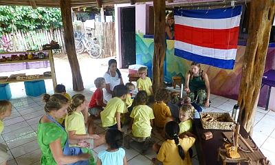 """""""Kindergarten Guanacaste Waldorf School Circletime Rancho"""" by Guanacaste Waldorf School - Guanacaste Waldorf School. Licensed under CC BY-SA 4.0 via Wikimedia Commons"""