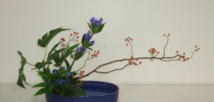 Ikebana arrangment