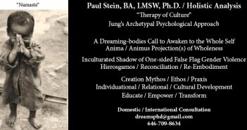 Paul Stein, LMSW, Ph.D. / Holistic Analysis