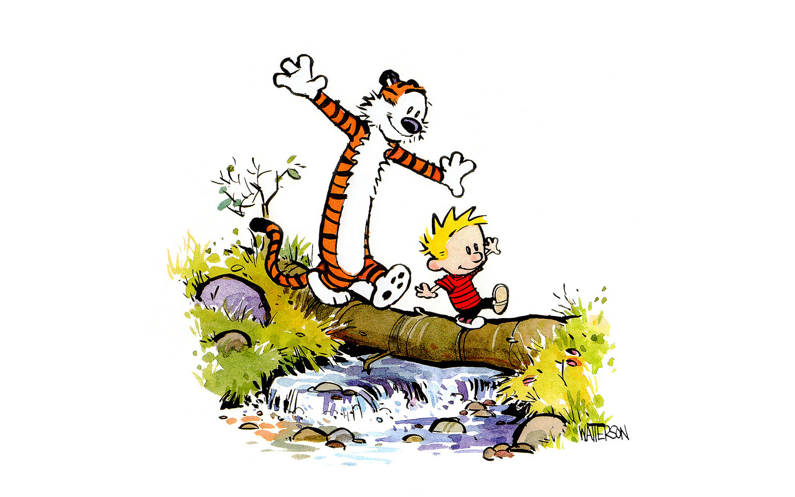 Image result for spring calvin and hobbes